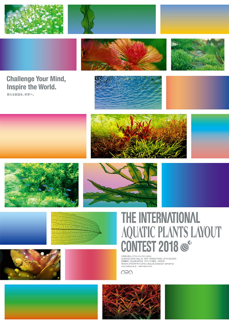 世界水草レイアウトコンテスト2018 オンライン応募受付開始