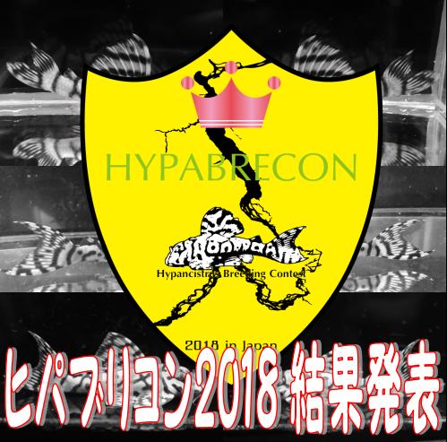 ◇ヒパブリコン2018 結果発表◇