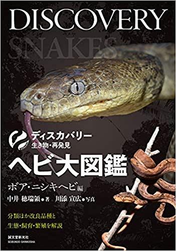 ヘビ大図鑑 ボア・ニシキヘビ編着弾☆