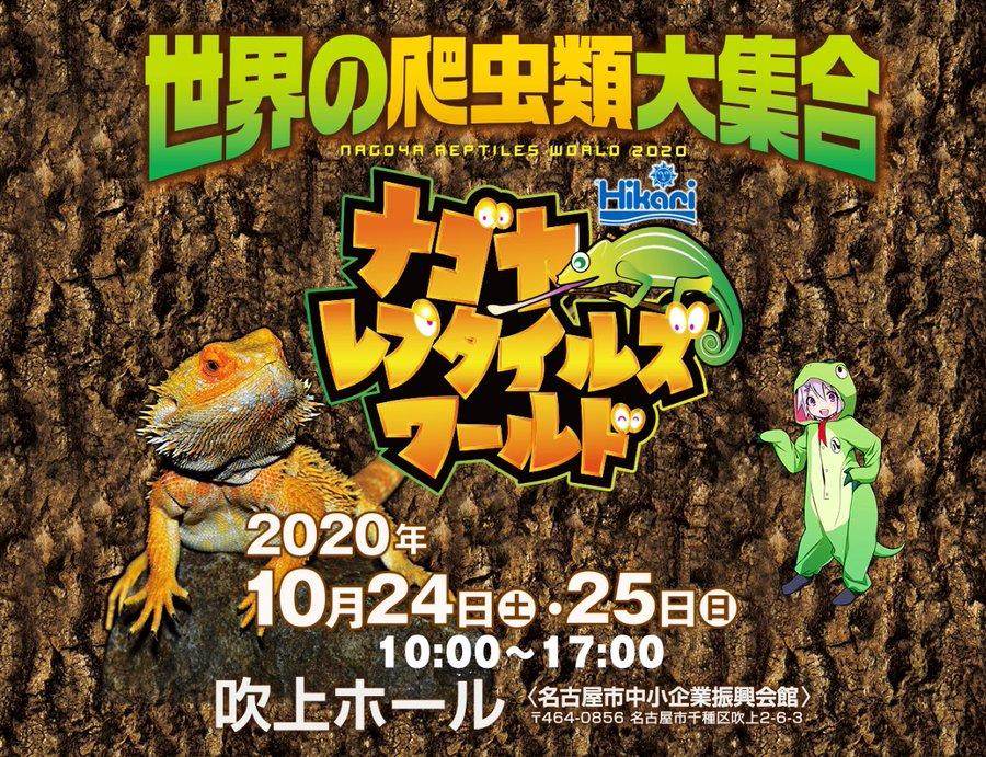 2020 爬虫類 イベント